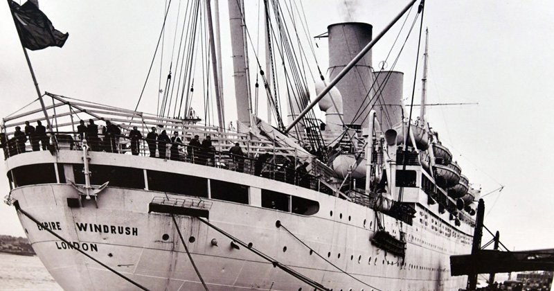 Windrush ship
