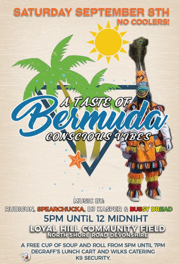 A Taste of Bermuda Conscious Vibes August 2018