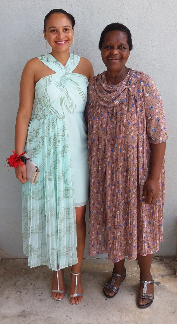 Angela and mother Ermin Penn August 2018