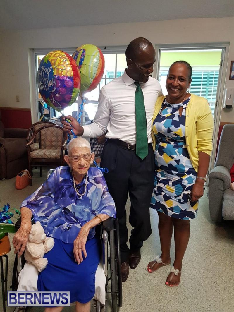 Angelina Bean 100th Birthday Bermuda, August 16 2018 (3)