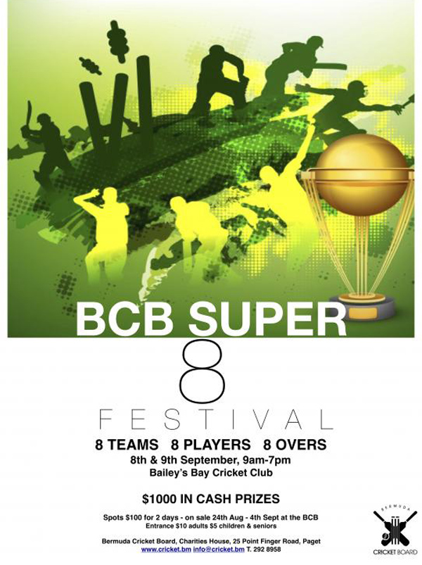 BCB Super 8 Festival Bermuda August 2018