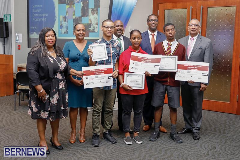 BEDC Student Entrepreneur Awards Bermuda (3) August 30 2018
