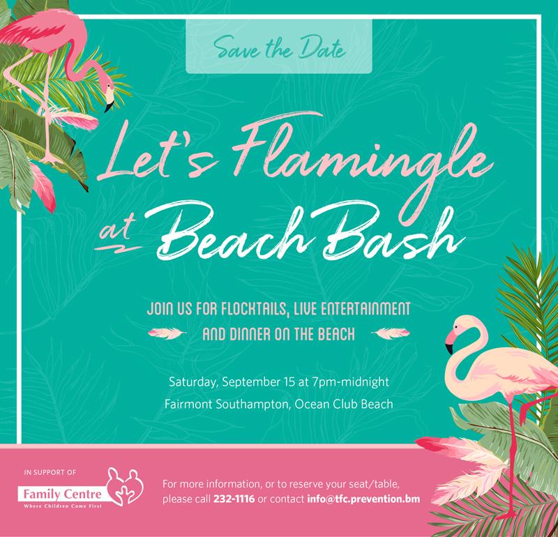 Beach Bash Bermuda August 2018