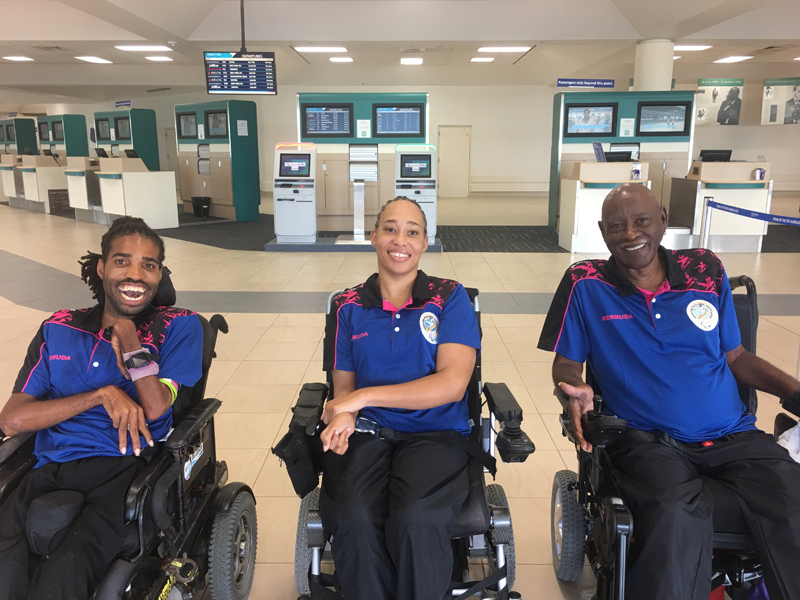 Bermuda Boccia Team August 8 2018