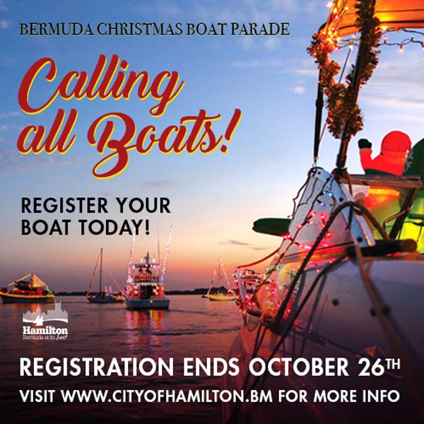 Bermuda Christmas Boat Parade August 2018