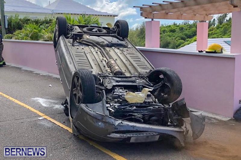 Car Collision Bermuda August 5 2018 (3)