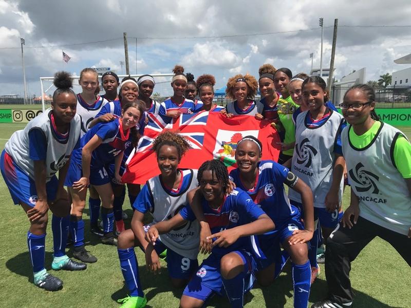 Concacaf Bermuda Team Aug 12