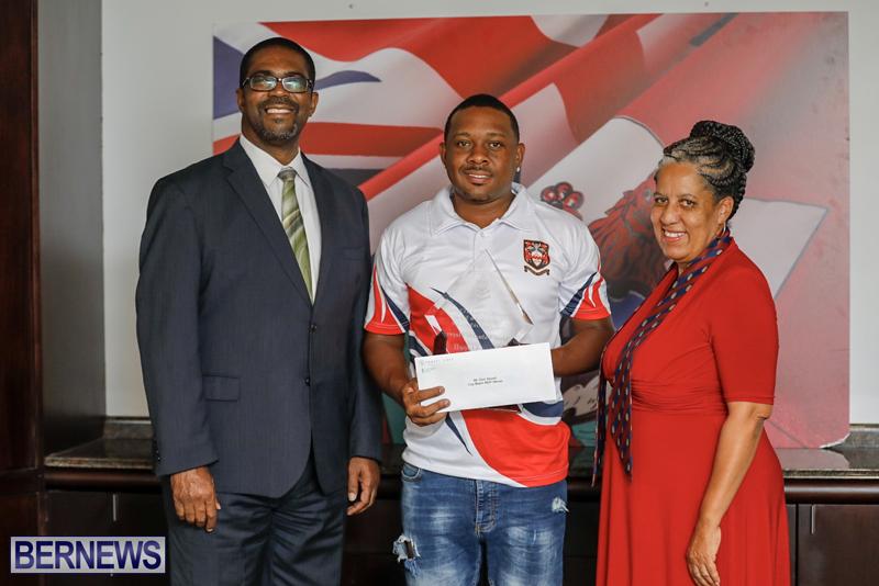 Cup Match MVP award Bermuda August 29 2018