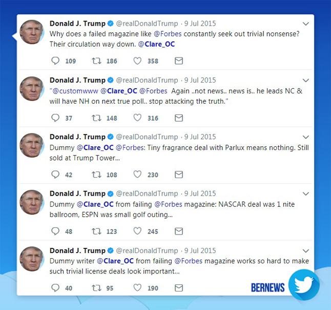 Donald Trump tweet July 9 2015