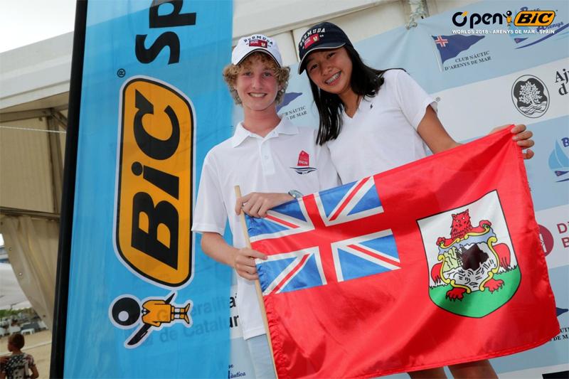 Genevieve Lau and Thomas Evans Bermuda August 2018