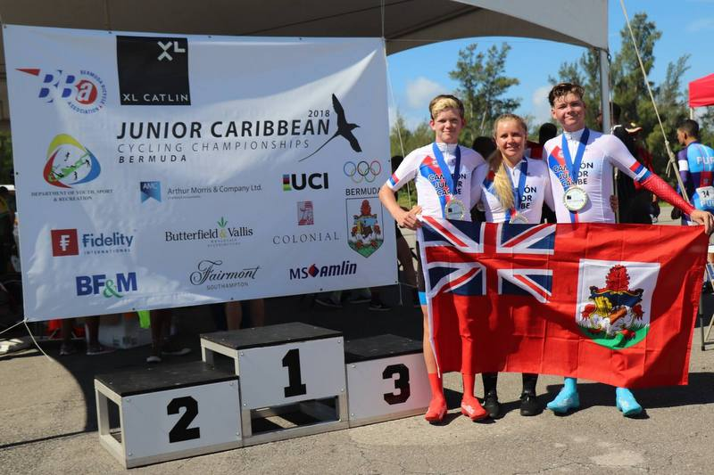Junior Caribbean Cycling Championship Bermuda, August 11 2018 (1)