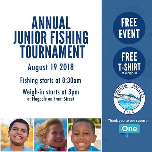 Junior Fishing Tournament Bermuda August 2018
