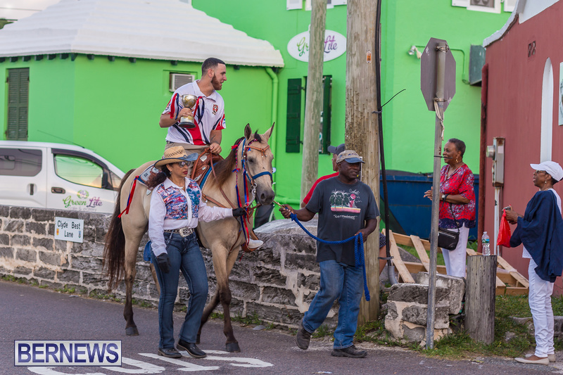 Marching Of The Cup Somerset Cricket Club Bermuda, August 17 2018 (1)