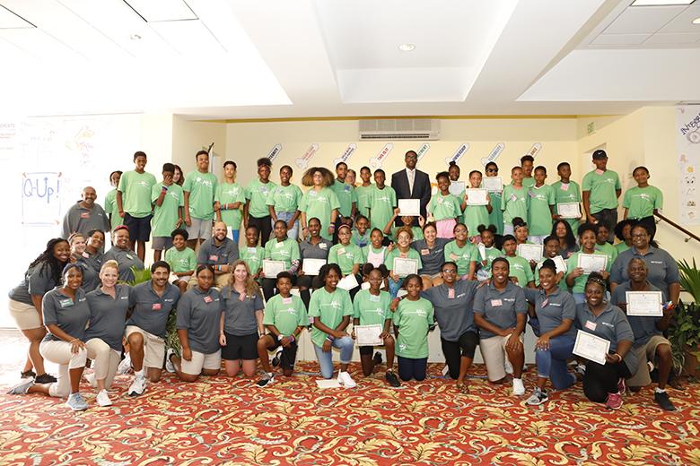 Mirrors SuperCamp Closing Ceremony Bermuda August 2018 (6)