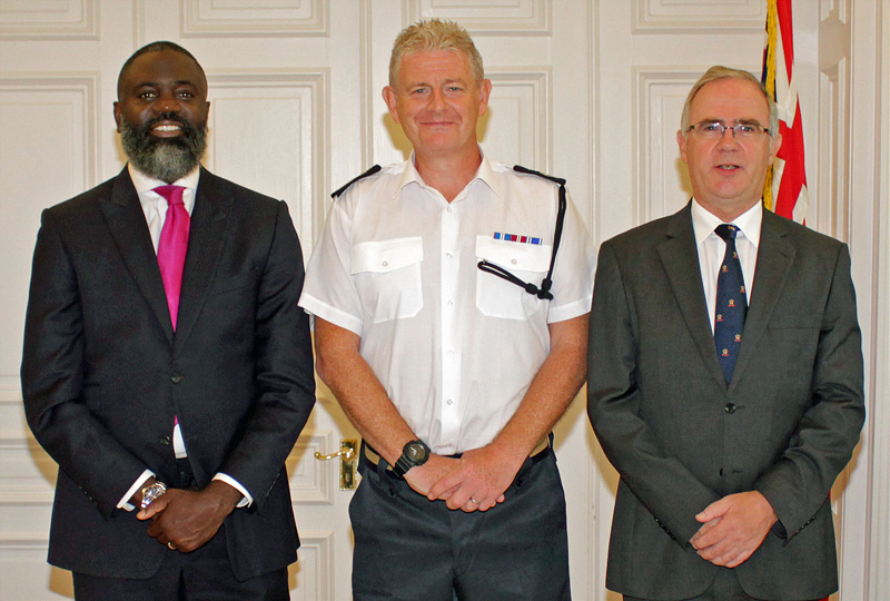 New Police Commissioner Sworn In Bermuda Aug 2018 (2)