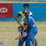 One Communications Championship Cup Premier Division Rangers vs St Davids at Wellington Oval Bermuda, August 12 2018-7072