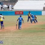 One Communications Championship Cup Premier Division Rangers vs St Davids at Wellington Oval Bermuda, August 12 2018-7220