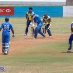 One Communications Championship Cup Premier Division Rangers vs St Davids at Wellington Oval Bermuda, August 12 2018-7221