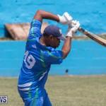 One Communications Championship Cup Premier Division Rangers vs St Davids at Wellington Oval Bermuda, August 12 2018-7351