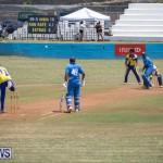 One Communications Championship Cup Premier Division Rangers vs St Davids at Wellington Oval Bermuda, August 12 2018-7355