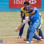 One Communications Championship Cup Premier Division Rangers vs St Davids at Wellington Oval Bermuda, August 12 2018-7444