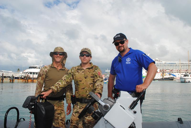 Regiment Boat Troop and Marine Police Bermuda August 5 2018 (1)