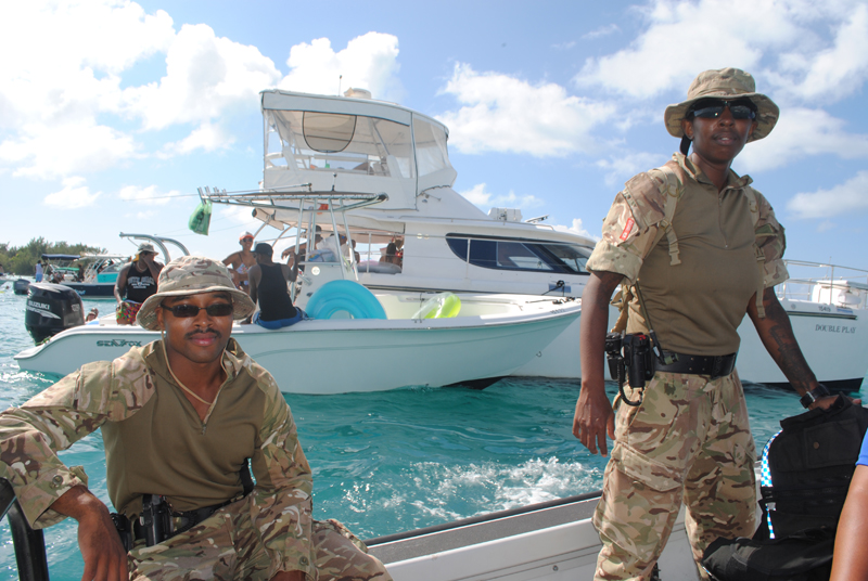 Regiment Boat Troop and Marine Police Bermuda August 5 2018 (2)