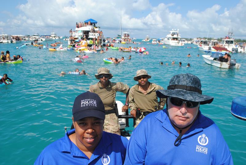 Regiment Boat Troop and Marine Police Bermuda August 5 2018 (3)