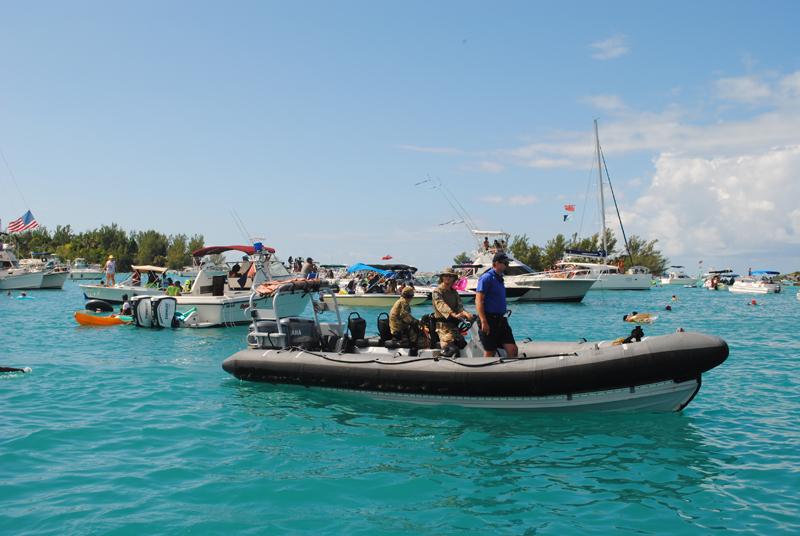 Regiment Boat Troop and Marine Police Bermuda August 5 2018 (4)