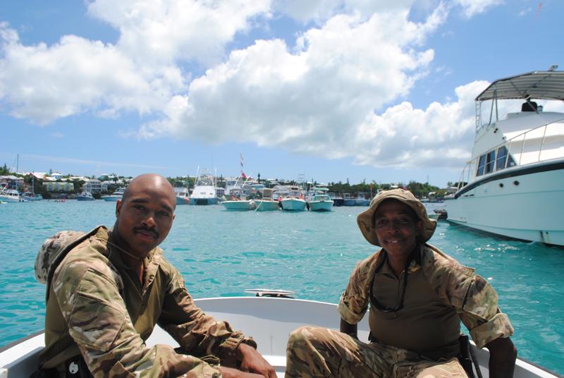 Regiment Boat Troop and Marine Police Bermuda August 5 2018 (5)