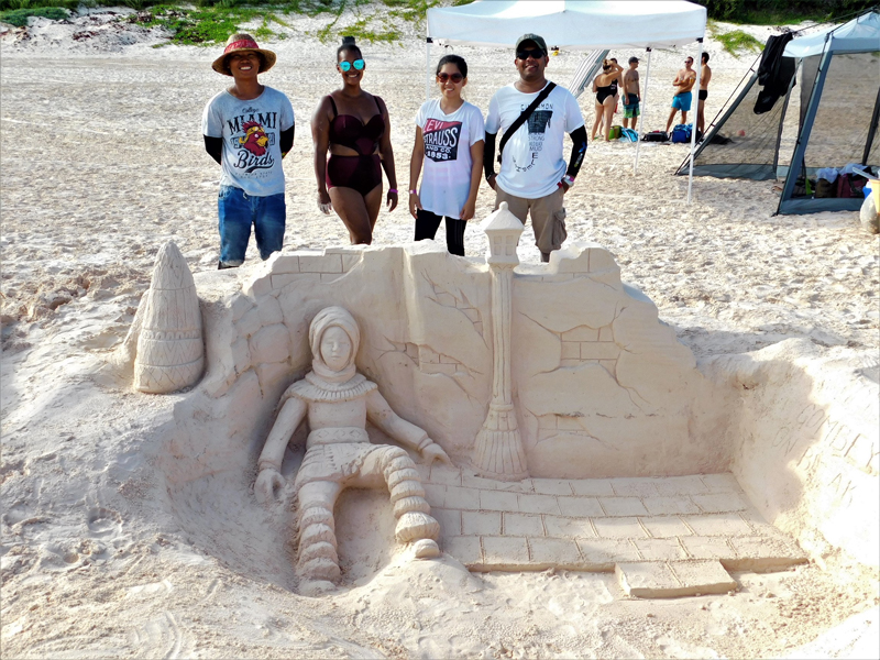 Sandcastle Competition Bermuda August 2018 (1)
