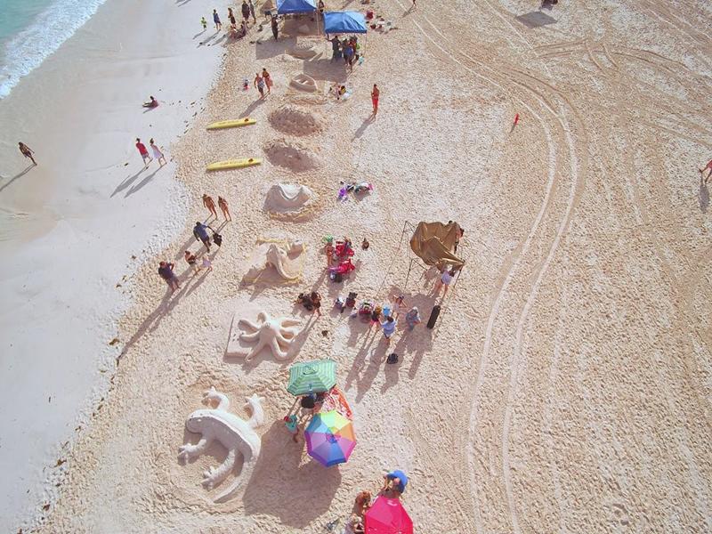 Sandcastle Competition Bermuda August 2018 (2)