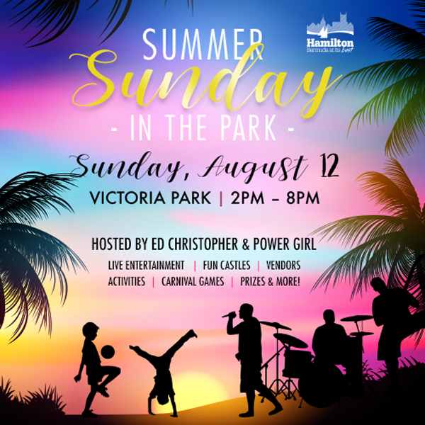 Summer Sunday in the Park Bermuda August 2018