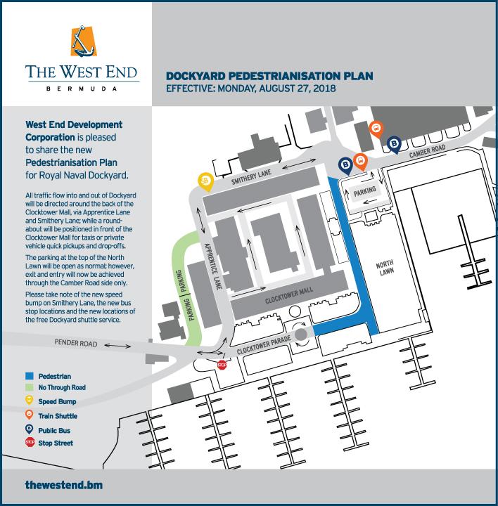 WEDCO Pedestrianisation Bermuda August 2018