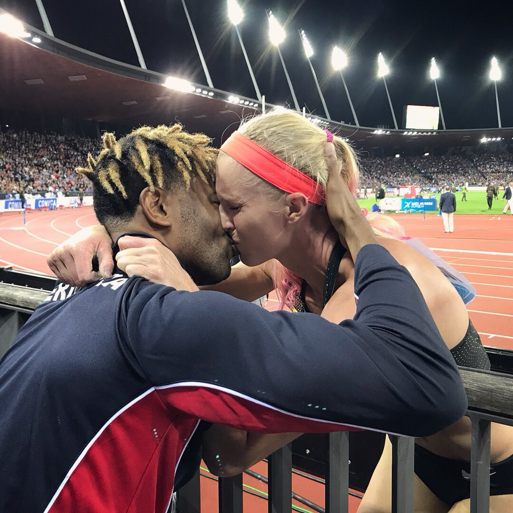 Olympian Proposes To Olympian At Track Meet - Bernews