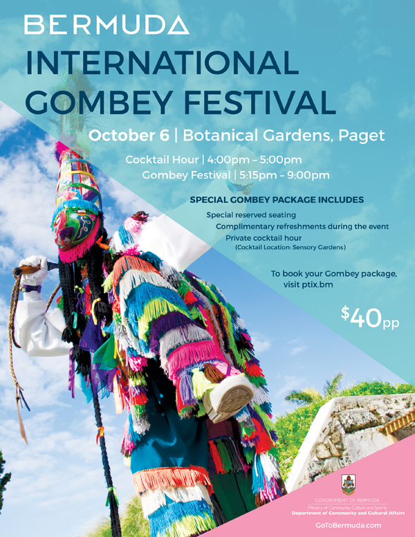 Bermuda International Gombey Festival September 2018