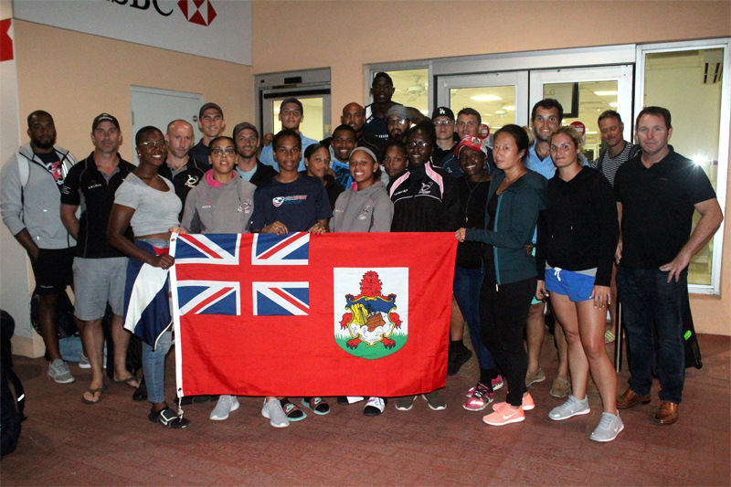 Bermuda National Rugby Sevens teams September 2018