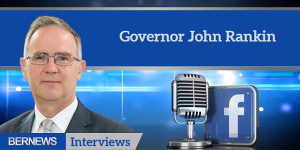 Bernews Interviews TC Governor John Rankin