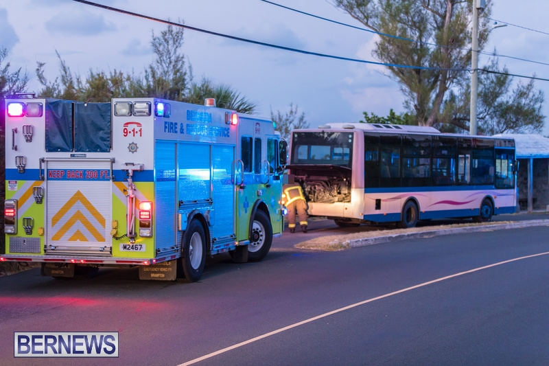 Bus Engine Fire Bermuda, September 3 2018-2