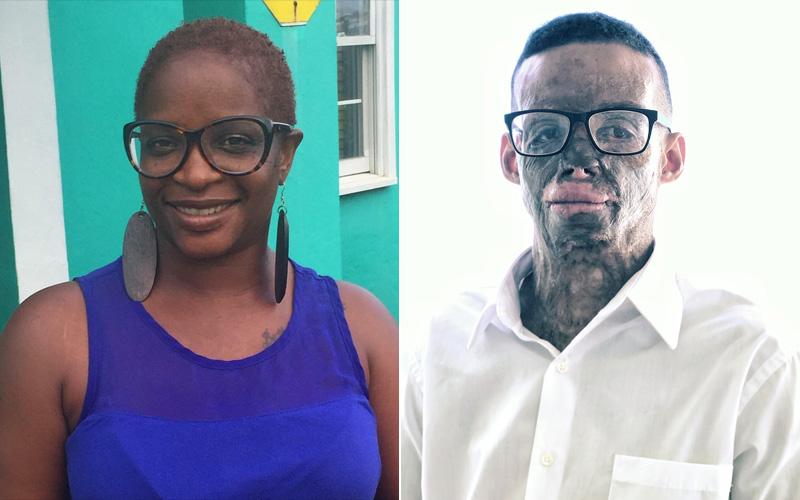 Carla Zuill and Dejon Simmons Bermuda September 2018