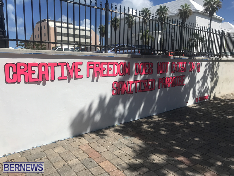Creative freedom does not exist in a sanitized paradise Bermuda Sept 2018 (8)