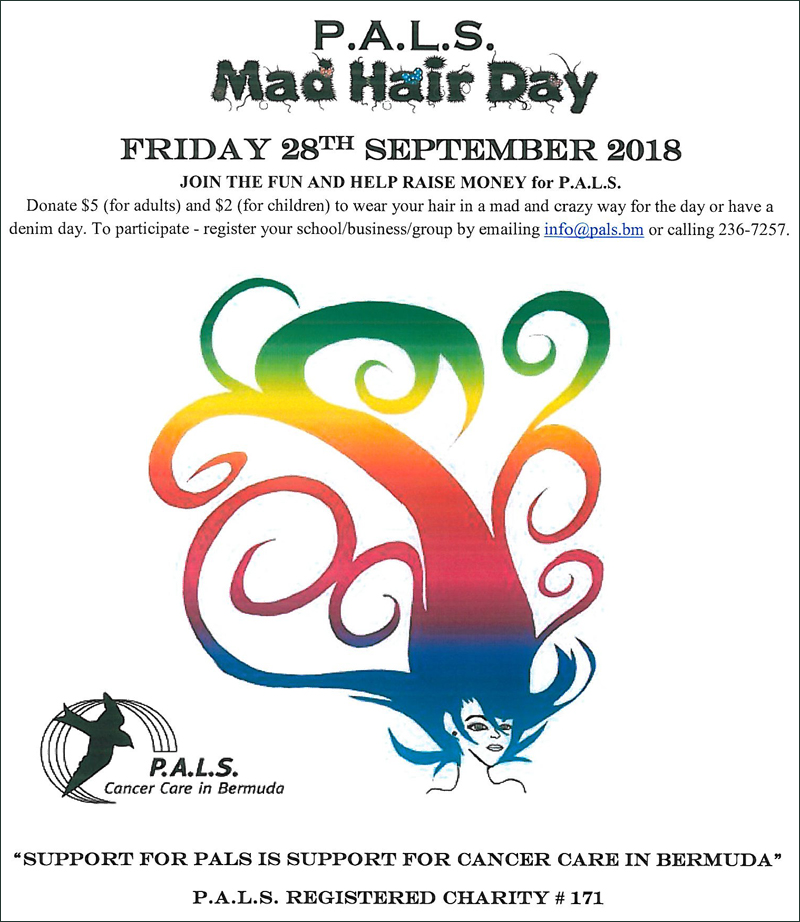 Mad Hair Day Bermuda Sept 20 2018 1