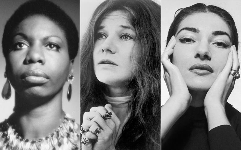 Nina Simone, Janis Joplin and Maria Callas Bermuda Sept 2018