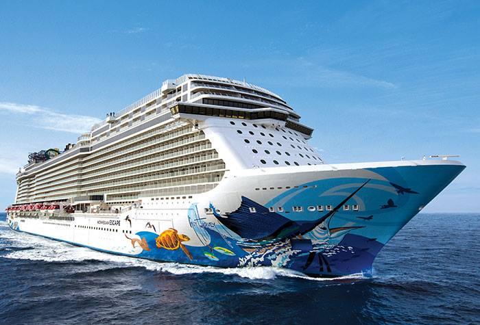 Norwegian Escape Bermuda September 6 2018