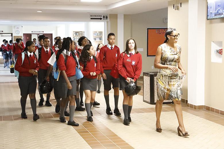 Opening Day of School Bermuda Sept 10 2018 (1)