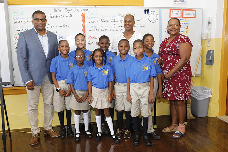 Opening Day of School Bermuda Sept 10 2018 (3)