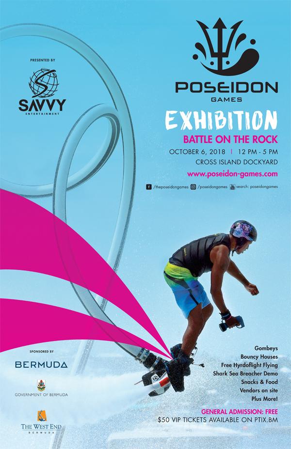 Poseidon Games Exhibition Bermuda Sept 2018