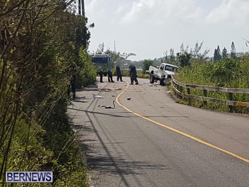Southampton Trucks Collision Bermuda, September 11 2018 (1)