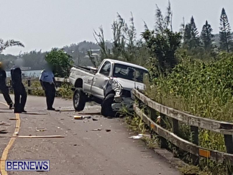 Southampton Trucks Collision Bermuda, September 11 2018 (4)