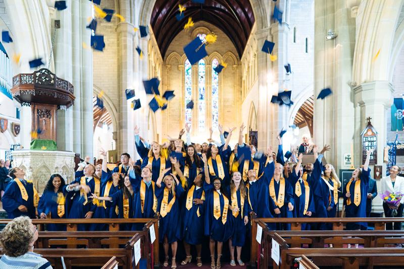 saltus graduation Bermuda September 6 2018